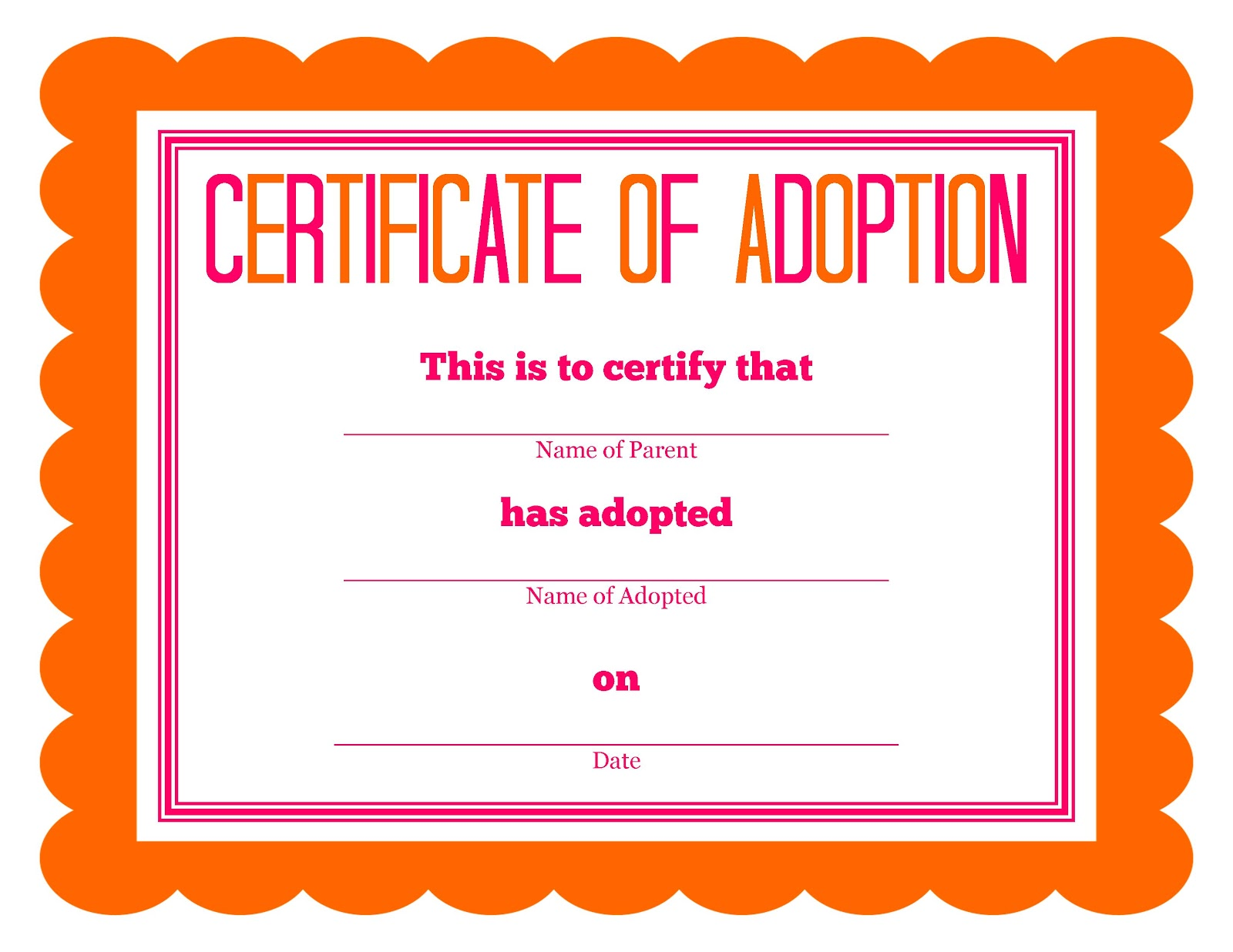 ortl adoption the daily bastardette adoption certificate